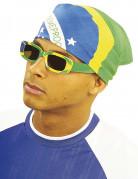 Brasilien-Kopftuch 55 cm x 55 cm