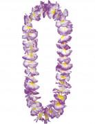 Lilafarbene Hawaii-Halskette