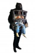 Gorilla-Kostüm mit Käfig