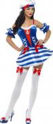 Sexy Marine-Kostüm für Damen