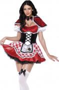 Rotkäppchen Kostüm für Frauen sehr attraktiv