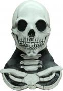Halloween Skelett-Maske und -Brustkorb für Erwachsene