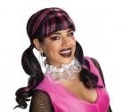 Draculaura Monster High™-Perücke für Damen