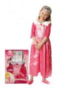 Rosa Dornröschen™-Kostüm für Mädchen