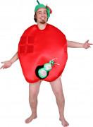 Apfel Fun-Kostüm für Erwachsene
