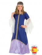 Mittelalterliches Königinnen-Kostüm für Mädchen