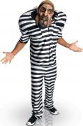 Big Bruizer Gefangenen-Kostüm für Herren