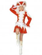 Rotes Funkenmariechen Kostüm für Mädchen Essen