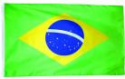Brasilianische Flagge Fan-Zubehör grün-gelb-blau