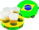 Trommel und Tablett Brasilien