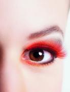 Rote Kunst Wimpern für Erwachsene