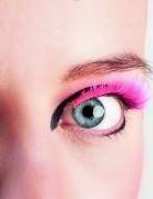 Kurze künstliche Wimpern rosa