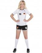 Deutschland Fußball-Kostüm für Damen