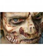 Zombie-Wunden als Abziehbild mit Wasser Premium