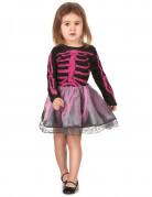 Skelettkleidchen für Mädchen