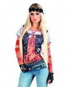Tätowierungen Rockerin T-Shirt für Damen