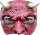 Teufels-Halbmaske für Herren