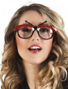 Brille Marienkäfer für Erwachsene