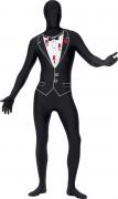 Zweite Haut von Kugel getroffen Halloween Kostüm für Erwachsene