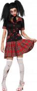 Halloween Blutende Schülerin Kostüm für Damen