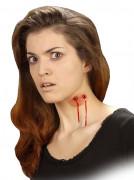 Falsche Wunde Vampir-Biss Halloween für Erwachsene
