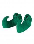 Schuhüberzieher grün Elfe Wichtel Gnom für Erwachsene