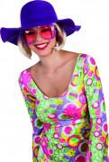 Sommer Hut lila für Damen