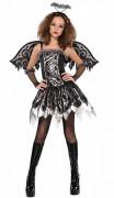 Halloween gefallener Engel Kostüm für junge Mädchen