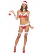 Sexy Weihnachtsfrau Bikini für Damen
