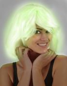 Leuchtende Perücke für Damen