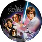 Teller aus Melanim im Star Wars-Design