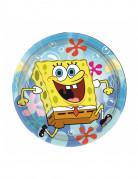 8 kleine Pappteller Spongebob Schwammkopf™