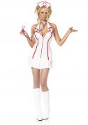 Das Kostüm der sexy Krankenschwester.