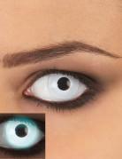 Weiße UV Kontaktlinsen für Erwachsene