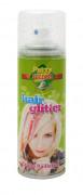 Grünes Haarspray mit Pailletten 125 ml