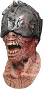 Maske Krieger Zombie - Hand bemalt