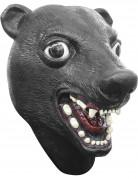 Schwarze Bärenmaske