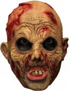 3/4 Maske Zombie mit Gebiß - Hand bemalt