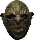 3/4 Maske Grüner Ork mit Gebiß - Hand bemalt