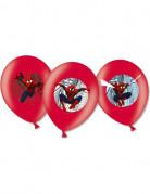 6 Spiderman™ Luftballons
