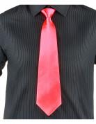 Neonrosa Krawatte