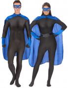 Superheldenkostüm für Frauen und Männer - blau