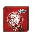 20 Avengers™ Papier Servietten Marvel™ rot