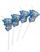 6 Trinkhalme Max Steel™