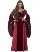Mittelalterliches Kostüm für die Frau - Rote Königin