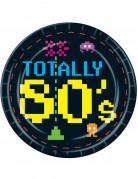 Pappteller Totally 80