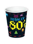 8 Trinkbecher  80s 266ml