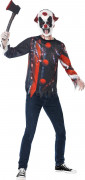 Gruseliges Clown-Kostüm für Halloween für Erwachsene