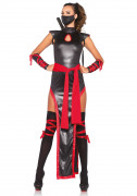 Ninja-Kostüm für Damen