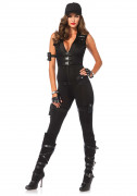 Premium - Verkleidung Sexy SWAT für Frauen